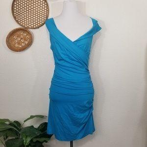 Diane Von Furstenberg Bentley Sleeveless Blue DVF